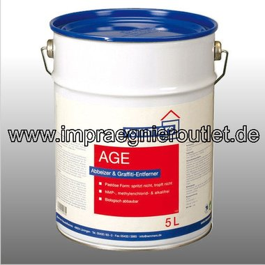 AGE Alkali-free stripping agent, removes graffiti and paints - 25L