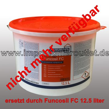 Remmers Funcosil FC impregnation cream - 40% active ingredient (15 liter)